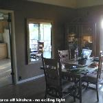 Dining area  - needs a light
