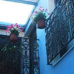HR Catania-Garden court-yard upper floor