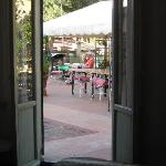 view of terrace from room