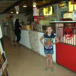 Inside the concession stand - Big Sky Drive In - Wisconsin Dells