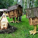 Hütte auf den Hühnerstielen