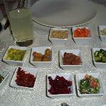 starter dips & salads