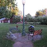 More backyard seating