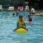 Nice swimming pool!