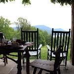 Breakfast at Ashokan Dreams (Reservoir Suite)