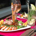 déjeuner à la terrasse Thalassoleil