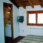 Pensió Samarra - Habitación cama matrimonio