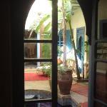 vue de l'entrée