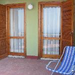 Portefinestre dell'Appartamento al terrazzo