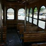 Interior of the Fun Time Trolley
