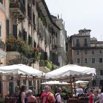 Cafes in the Pantheon Square