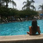 Quiet pool ...