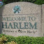 Entrance to the City of Harlem, Georgia