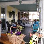 The wine bar - we are the only B&B that can legally serve and sell wine