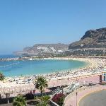 Amadores Beach (very nice).