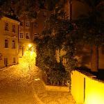 APPIA - Blick aus dem Fenster bei Nacht