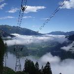 View towards Mayrhofen from Ahorne cable car 2010