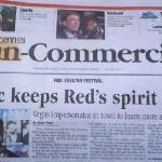 Headlines in Vincennes Newspaper