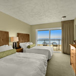 Room with 2 double beds ocean view