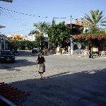 Lardos Village square