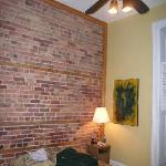 Loved the exposed brick!