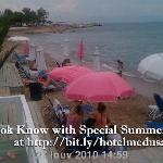Sea-front Hotel Medusa near Athens airport, Greece -Beach