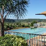 Pool mit Blick ins Shamwari Game Resort