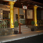 Knossos Taverna Entrance