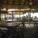 Restaurant am anderen Ende der Höhle