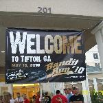 Banner for us Bandit Runners displayed