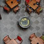 Courtyard from above