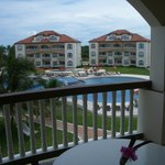 View of Grand Caribe from seaview room