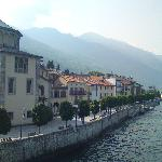 Cannobio from the lake #2
