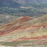 Painted Hills Unit, Fossil Beds NM - colorful hills