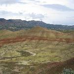Painted Hills Unit, Fossil Beds NM - stark but colorful landscape