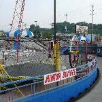 Trampoline & Gyro ride at Smoky Mountain Speedpark