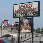 Exterior of Smoky Mountain Speedpark