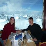 10,000-foot breakfast overlooking the majestic Alps
