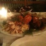 Seafood Platter (sorry about the quality of the photo)