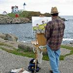 Strand York Beach - Maler u. Leuchtturm