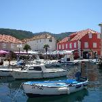 View of main harbour Stari Grade