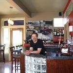 John himself at the bar
