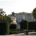 Palacio Real - view from patio