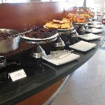Breakfast buffet - cakes and pastries