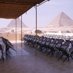 Roof top terrace can accommodate up to 100 guest for Banquets, lectures or other events such as