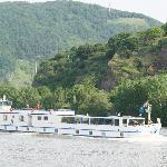 Cruise  Ship on the famous Rhine