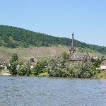 Filsen Church just across the river Rhine from Boppard