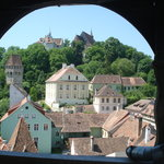 Sighisoara - view from clock tower of city