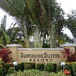 Sunshine Suites Entrance