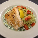 Weekly specials like salmon florentine and shrimp puttanesca